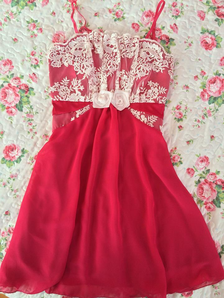 krátke šaty malinovej farby 34,36 - Obrázok č. 1