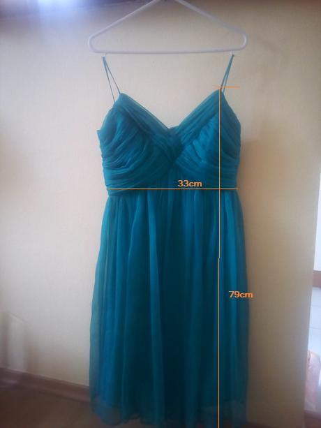 Krátke zelené šaty S /36 - Obrázok č. 4
