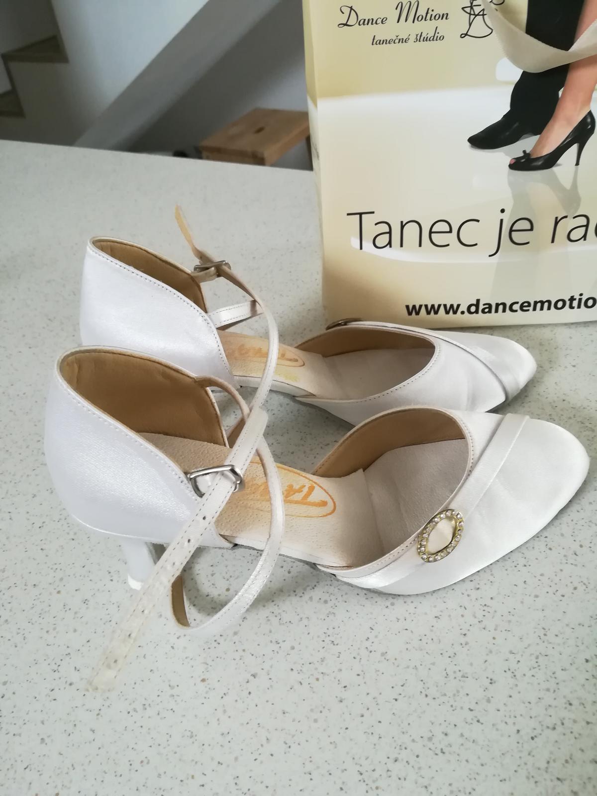 Tanečné svadobné topanky - Obrázok č. 1