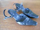 Kožená letní pásková velmi pohodlná obuv, 37