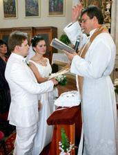 Požehnanie manželského zväzku