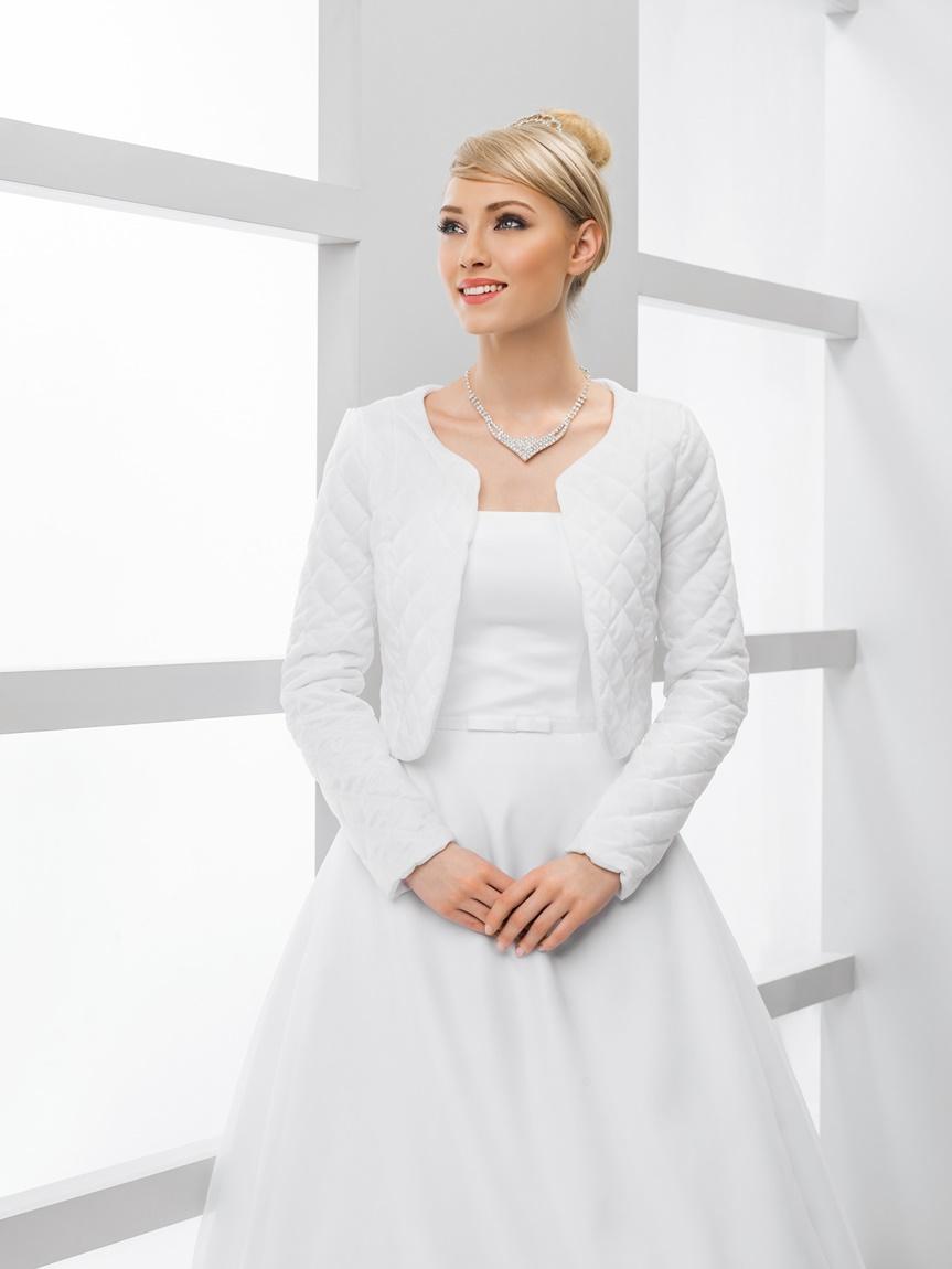 svadobný kabátik, svadobné bolerko - Obrázok č. 1