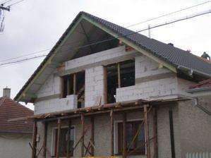 strecha takmer hotová