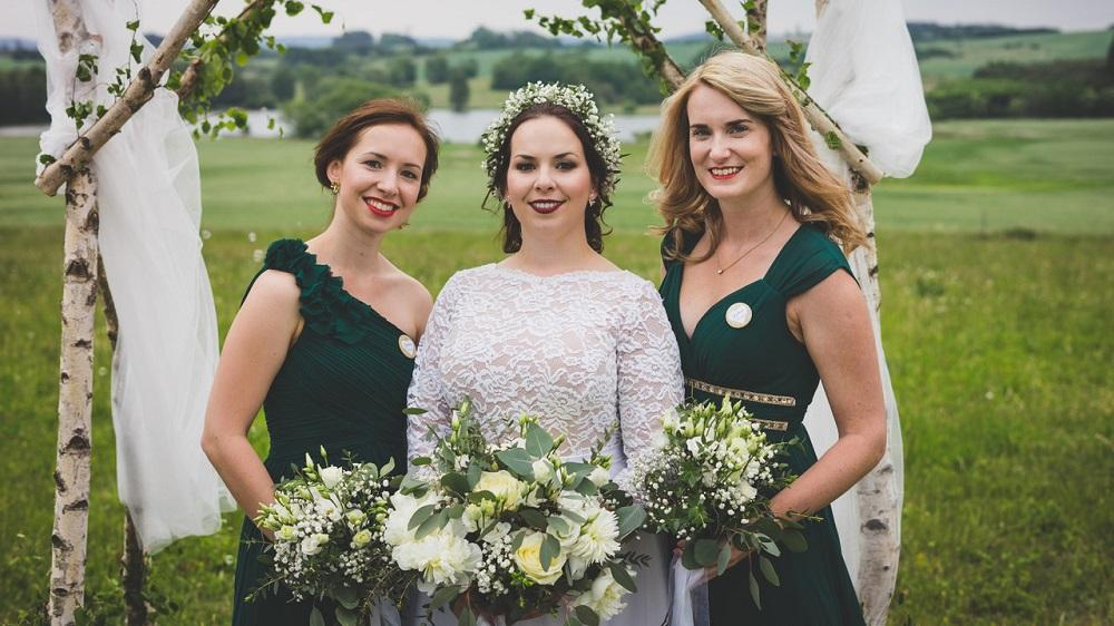 Svatba v zelených a bílých odstínech - Obrázek č. 1
