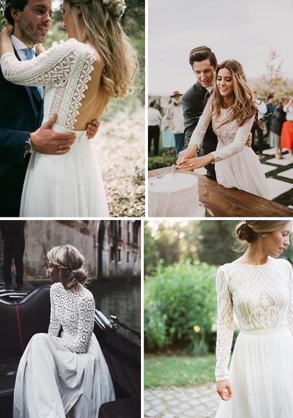 62455eb11f4c Kde nájdem jednoduché svadobné šaty  - - Svadobné...