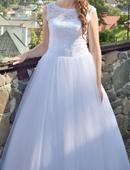 Svadobné šaty pre vysokú nevestu , 40