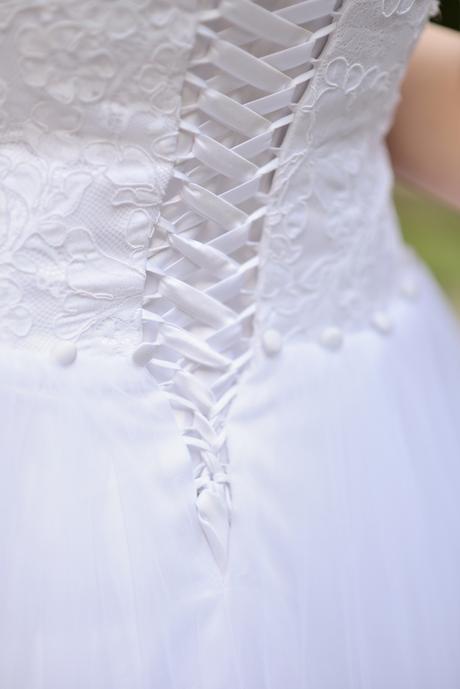 Svadobné šaty pre vysokú nevestu - Obrázok č. 3