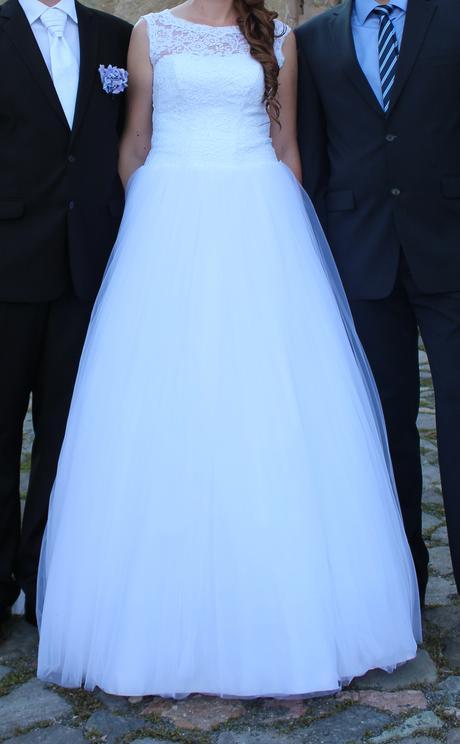 Svadobné šaty pre vysokú nevestu - Obrázok č. 4