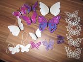 Motýlci k dekoraci ,