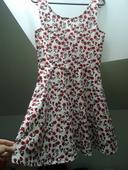 kvietkované šaty H&M Divided, 38