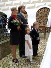 """Adélka a Karel - naši svědci, Hanička a Víťa naše """"družátka"""""""