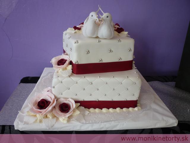 Svadobne torty, zakusky - Obrázok č. 54