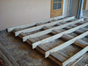 vyrovnávání podlahy