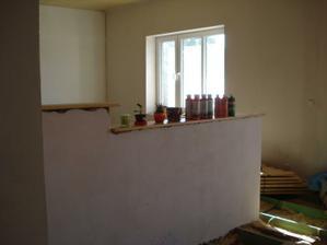 pultík v obýváku-dělí obývák a jídelnu