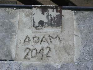 na památku ( naše první písmena) a rok