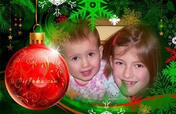 Krásné svátky vánoční přejí Dvořáčata