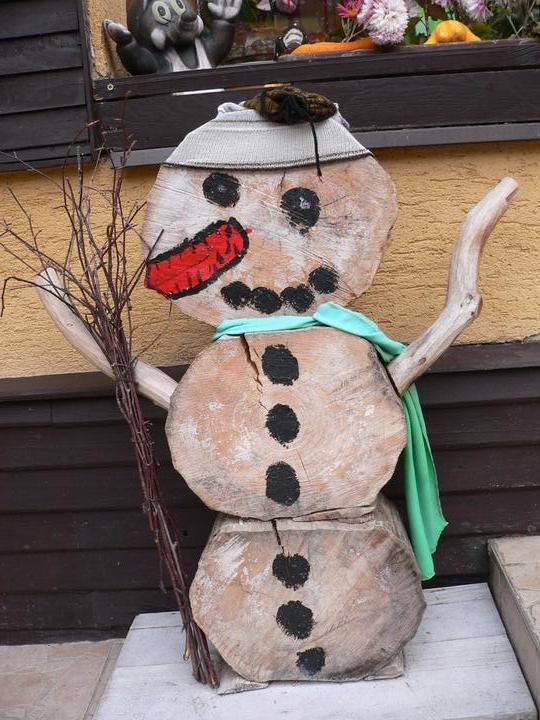 S Adélkou vytváříme - no panu sněhulákovi už je asi 5 let:-)