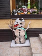 i když sních není my máme svého sněhuláka