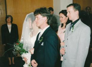 nevěsta a ženich