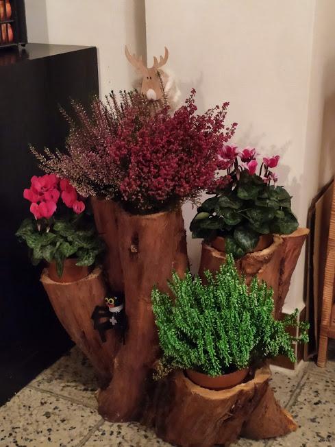 Včera jsem dostala dárek od manžela...Až po dlouhé době mi došlo že to dělal sám, dokonce i osazení květenou, opravdu překvapení, asi se minul povoláním :-) - Obrázek č. 1