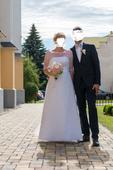 Svadobné šaty Agnes veľ. 40-42, 40