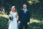 ľahké padavé letné boho svadobné šaty, 34