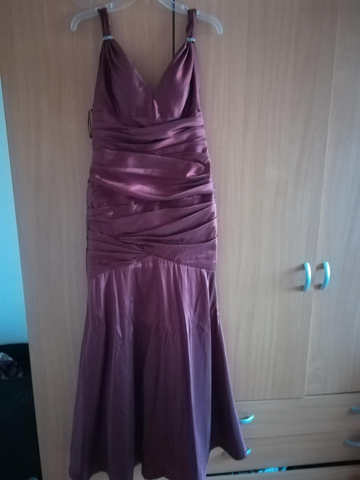 bordové šaty - Obrázok č. 3