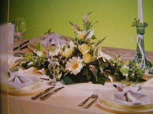 vysněná svatrební tabule
