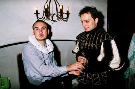 Hanka{{_AND_}}a Milan Hojgrovi - příprava ženicha