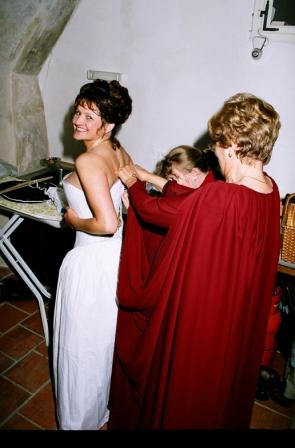Hanka{{_AND_}}a Milan Hojgrovi - příprava nevěsty