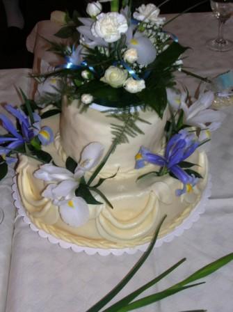 Hanka{{_AND_}}a Milan Hojgrovi - nás svatební dortík