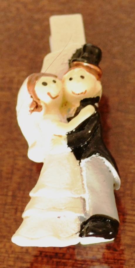 Kolíček nevěsta s ženichem - Obrázek č. 1
