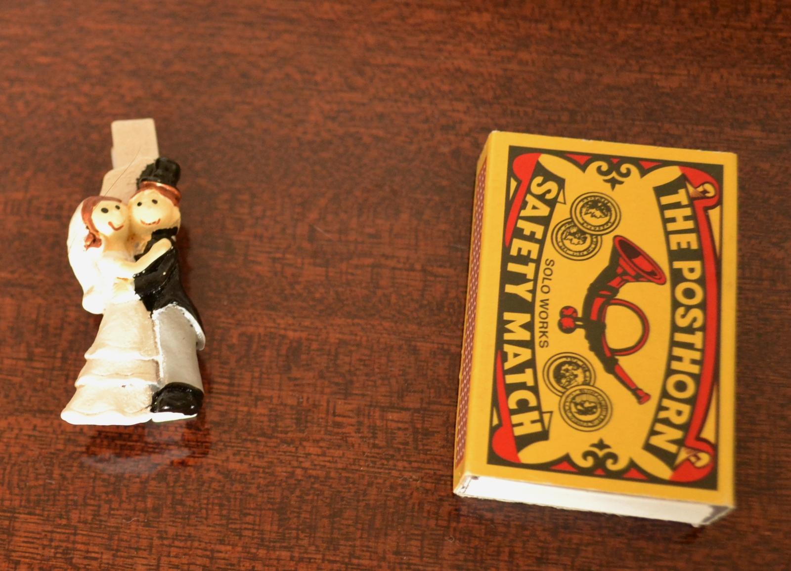 Kolíček nevěsta s ženichem - Obrázek č. 2