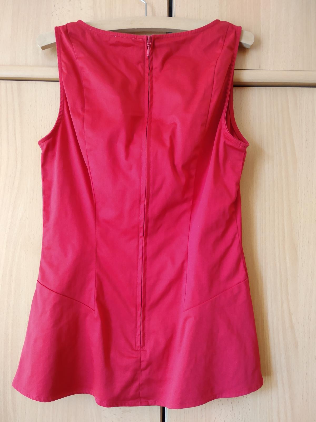 Červený top Orsay - Obrázek č. 3
