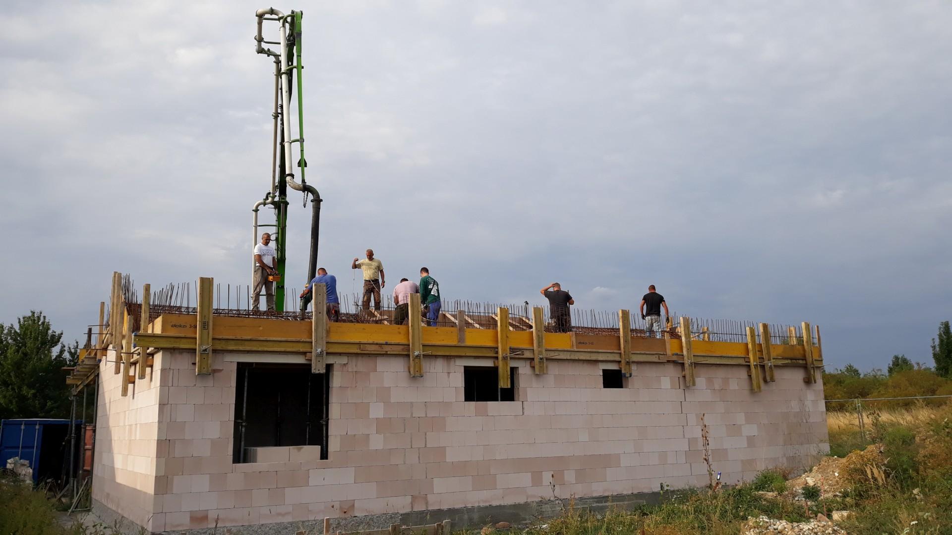 Vrchná stavba - VPC Kalksandstein murivo, zelená strecha - Obrázok č. 31