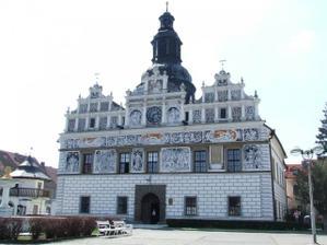 Radnice ve Stříbře, kde se bude konat obřad