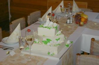 Takový svatební dortík budu mít