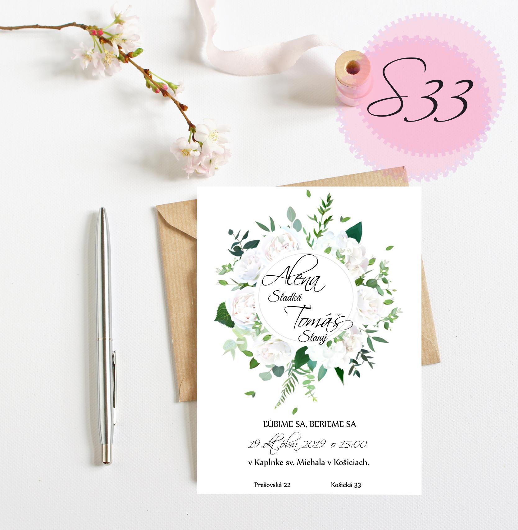 zelené svadobné oznámenia - Obrázok č. 5