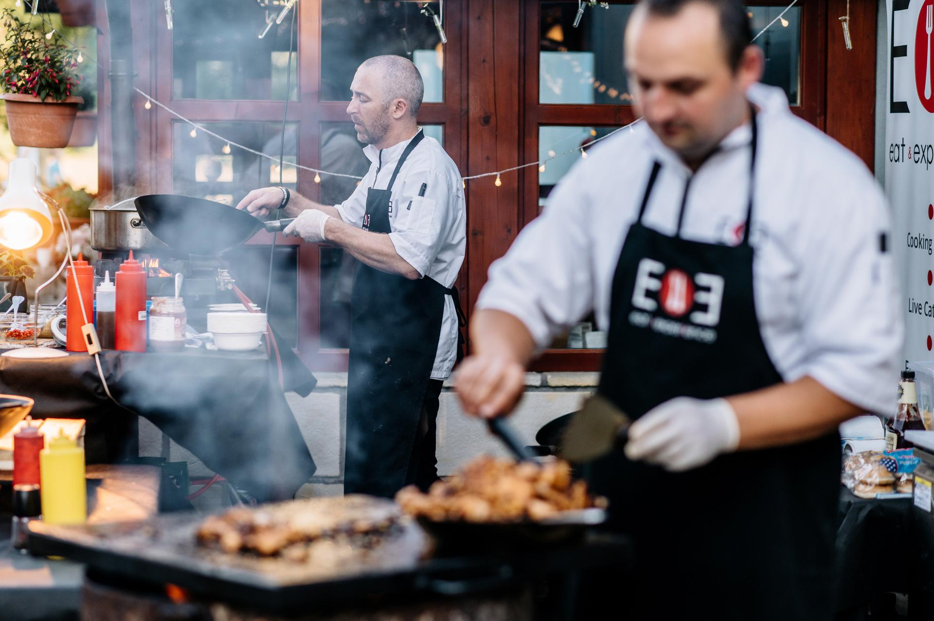eatandexperiencecatering - Live cooking - asie/grill