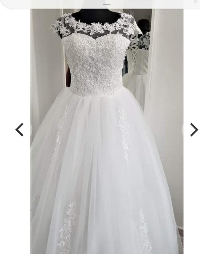 Prodám NOVÉ hezké svatební šaty - Obrázek č. 1
