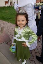 mala družička-moja neter Sašlinka