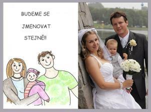 """Svatební oznamko v.s. den """"D"""""""