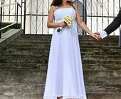 svadobné šaty - aj pre tehuľky s postou, 40