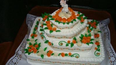 Hlavna torta od krstnej, nadherna, chutna a velka