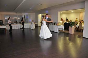 prvý spoločný tanec manželov Domanových