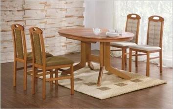 takový oválný stůl bych chtěla mít v jídelně