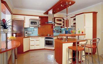 Krásná kuchyně-hlavně ty barvy