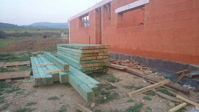 pripravené drevo na krov!všetko?....