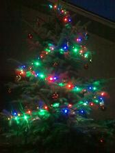 A stromček máme aj pred domom :)