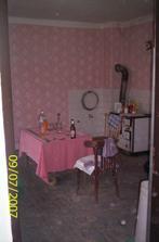 Stará kuchyňa :( terajšia spálňa :)